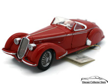 FRANKLIN MINT 1937 Alfa Romeo 2900B Diecast 1:24 Scale Red