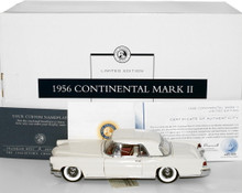 FRANKLIN MINT 1956 Lincoln Continental Mark II Diecast 1:24 LE #037 / 500
