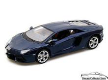 Lamborghini Aventador LP700-4 MAISTO SPECIAL EDITION Diecast 1:24 ScaleNavy Blue