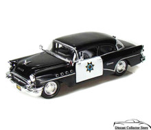 1955 Buick Century CALIFORNIA HWY PATROL Police Diecast 1:26 Scale MIB