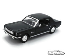1964 1/2 Ford Mustang MOTORMAX Diecast 1:24 Scale Black