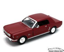 1964 1/2 Ford Mustang MOTORMAX Diecast 1:24 Scale Red