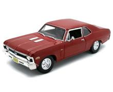 1970 Chevrolet Nova SS MAISTO SPECAIL EDITION Diecast 1:18 Scale Red