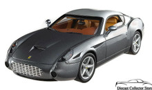 Ferrari 575 GTZ Zagato Hot Wheels Elite Limited Edition Diecast 1:18 Grey & Silver