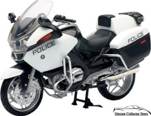 BMW R1200 RT-P Police Motorcycle Newray  Diecast 1:12 FREE SHIPPING