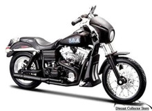 "Harley Davidson FXDBI Dyna Street Bob Sons of Anarchy ""Tig"" 1:12 FREE SHIPPING"