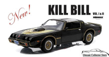 1979 Pontiac Firebird Trans Am KILL BILL Greenlight Diecast 1:18 Scale Black