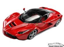 Ferrari LaFerrari BBURAGO Race & Play Diecast 1:18 Scale Red