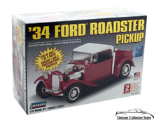 1934 Ford Roadster Pickup LINDBERG 1:24 Model Kit FREE SHIPPING
