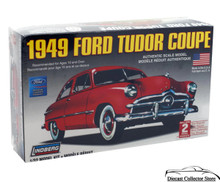 1949 Ford Tudor Coupe Lindberg Model Kit 1:32 Scale FREE SHIPPING