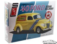 1940 Ford Sedan Delivery Gene Winfield AMT Model Kit 1:25 Scale Built 1 of 2 Ways