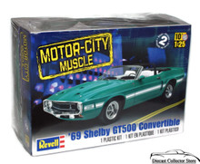 1969 Shelby GT500 Convertible REVELL Model Kit 1:25 Scale