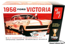 1956 Ford Victoria 3'n1 AMT Model Kit 1:25 Scale ENHANCED REISSUE