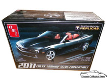 2011 Chevy Camaro SS/RS Convertible AMT Model Kit 1:25 Scale SHOWROOM REPLICAS