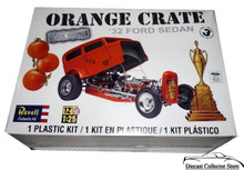 1932 Ford Sedan ORANGE CRATE Revell Model Kit 1:25 Scale Skill 3