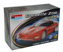 2004 Corvette Z06 Dream Rides MONOGRAM Plastic Model Kit 1:25 Scale