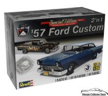 1957 Ford Custom 2'n1 REVELL Plastic Model Kit 1:25 Scale Skill Level 3