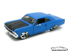 1966 Chevrolet Chevelle SS-396 MAISTO MUSCLE Diecast 1:24 Scale Blue FREE SHIPPING