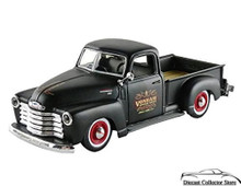 1950 Chevrolet 3100 Pickup MAISTO OUTLAWS Diecast 1:24 Scale Matt Black