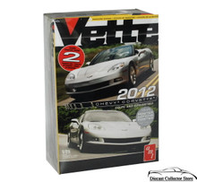 2012 Corvette Coupe/Convertible 2 kits in 1 AMT Vette Magazine Model Kit 1:25