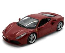 Ferrari 488 GTB BBURAGO Diecast 1:24 Scale