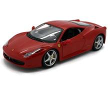 Ferrari 458 Italia BBURAGO Diecast 1:24 Scale