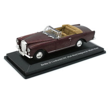 Bentley S2 Continental DHC Road Signature SIGNATURE SERIES Diecast 1:43 Burgundy