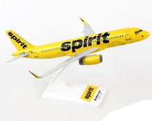 Spirit Airlines Airbus A320 Sky Marks SKR848 Scale 1/150 Model Kit
