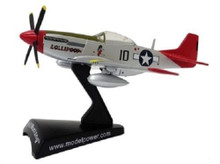 P-51D Mustang Tuskegee Airmen USAAF Daron Diecast 1:100 Scale Model FREE SHIPPING