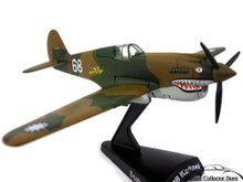 P-40 Warhawk Hell's Angels Daron Diecst 1:90 Scale FREE SHIPPING