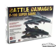BATTLE DAMAGED F-100 SUPER SABRE Lindberg Aircraft Model Kit 1:72 FREE SHIPPING
