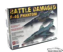 BATTLE DAMAGED F-4 Phantom Lindberg Aircraft Model Kit 1:72 FREE SHIPPING