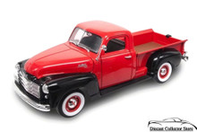 1950 GMC Pickup Truck ROAD SIGNATURE Diecast 1:18 Scale Red & Black