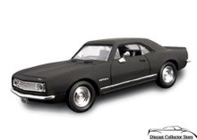 1967 Chevrolet Camaro Z-28 ROAD SIGNATURE Diecast 1:43 Scale Matt Black