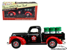 1940 Ford Pickup Truck Texaco Diecast 1:32 Scale Red & Black FREE SHIPPING