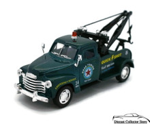 1953 Chevrolet Wrecker Tow Truck Kinsmart Diecast 1:38 Scale Green FREE SHIPPING