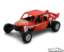 "Turbo Sandrail Kinsmart Diecast 5"" estimate 1:38 Scale Orange Free Shipping"