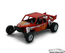 """Turbo Sandrail Kinsmart Diecast 5"""" estimate 1:38 Scale Red Free Shipping"""