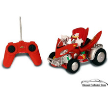 Knuckles The Echidna Sonic and Sega All Stars Racing R/C Radio Control FREE SHIPPING
