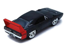 1969 Dodge Charger Daytona JADA BIGTIME MUSCLE Diecast 1:24 Scale Black