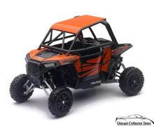 Polaris RZR XP1000 UTV ATV Dune Buggy New Ray Diecast 1:18 Scale Black/Red