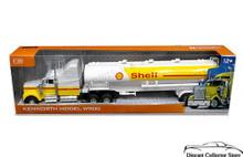 Kenworth W900 Shell Gasoline Tanker Semi Hauler Truck AUTOMAXX Diecast 1:32