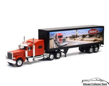 PETERBILT Model 389 Route 66 Dry Van Container NEWRAY Diecast 1:32 Scale