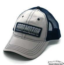 Hat - Ford Mesh Vented Adjustable Ball Cap Grey & Blue FREE SHIPPING