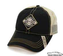 HAT - Chevrolet Appliqued Mesh Vented Adjustable Ball Cap FREE SHIPPING