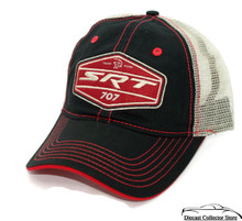 HAT - Dodge SRT 707 Embroidered Mesh Vented Adjustable Ball Cap FREE SHIPPING