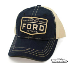 Hat - Ford Motor Co Unstructured Embroidered Ball Cap FREE SHIPPING