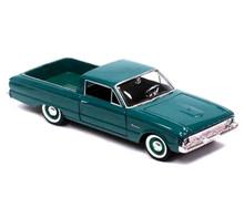 1960 Ford Ranchero MOTORMAX AMERICAN CLASSICS Diecast 1:24 Teal Green
