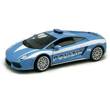 Lamborghini Gallardo LP 560-4 POLIZIA Maisto Diecast 1:24 Scale