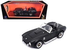1964 Shelby Cobra 427 S/C ROAD SIGNATURE Diecast 1:18 Scale Matt Black